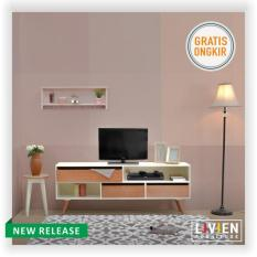 Kirana Furniture Rak Tv Audio Rack Meja Tv Bf 845 Wo Daftar Harga Source · LIVIEN