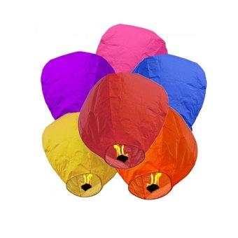 harga Lucky 3 Pcs Sky Lantern - Lampu Lampion Lentera Balon Terbang Lazada.co.id
