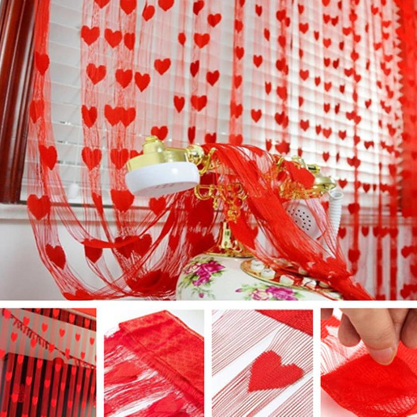 Lucky Paket Promo Tirai Benang Cantik Style Fashion Dekorasi Tirai Benang .