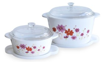 Luminarc Vitroline Country Flower 6 pcs Set - 1.5L + 3L
