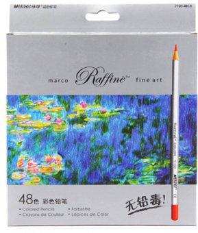Harga Marco Seni Rupa 72warna pangkalan minyak gambar pensil untuk artis sketsa tas .