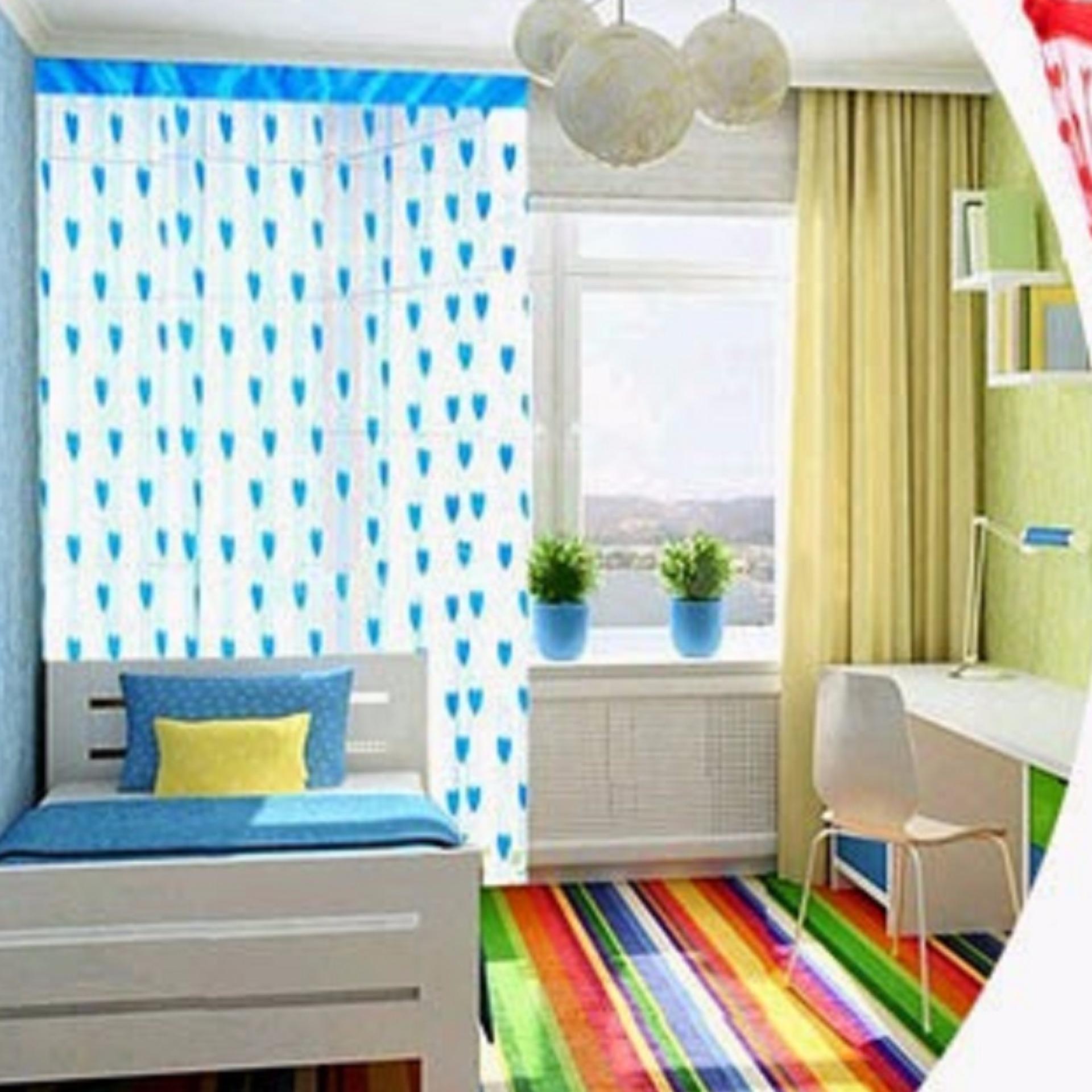 Hijau Mawar88shop Daftar Update Source Mawar88shop Tirai Benang Motif Love satu warna Lazada .