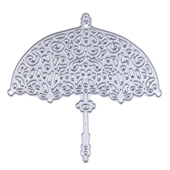 Metal Umbrella Design Die Cutting Dies Stencils for DIY Scrapbooking - intl
