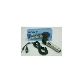 Fitur Sony Sn 218 Mic Mik Microphone Mikrofon Kabel Cable Karaoke ...