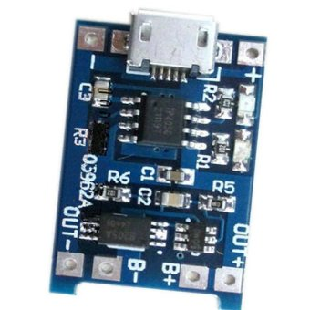 Micro - 5V USB 1A 18650 Lithium Battery Charging Board ChargerModule & Protection