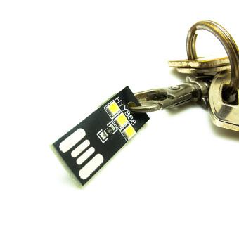harga Miibox Lampu LED Light Mini 3 Leds USB SMD Type-A Key Chains TorchEmergency Light HYY888 (1 pc) Lazada.co.id