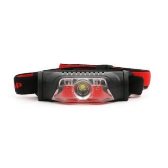 Mini Super Bright Headlight XPE + 2 LED 4 Mode Headlamp Head TorchLamp - intl - 2
