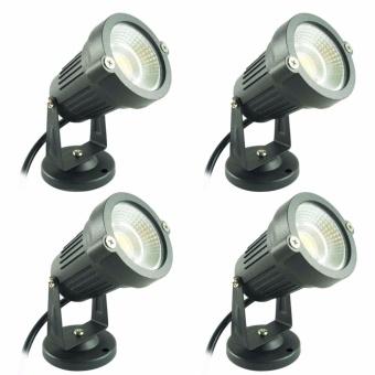 Miyalux Lampu Sorot LED 5watt - Warm white - 4 Buah