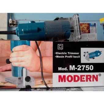 Modern Mesin Profil Kayu / Router / Trimmer M-2750