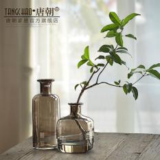Modern yang bergaya Eropa transparan gelas vas