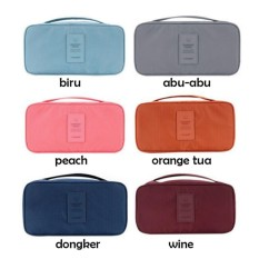 Monopoly Underwear Pouch Organizer Bag ,Tas Travel Bra Celana Dalam BHIDR21500. Rp 21.500