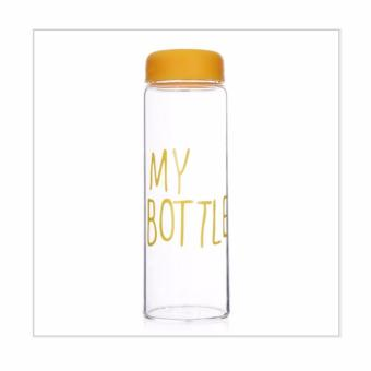 My Bottle Botol Minum Eco Friendly - 500 ML - Hanya Botol - Transparant