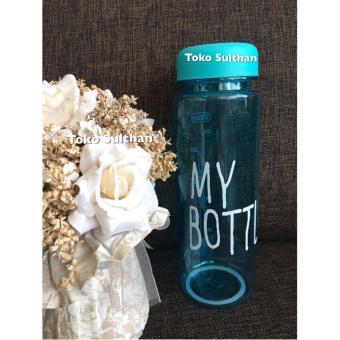 My Bottle NEW CLEAR Botol Warna Warni 500ml - BIRU