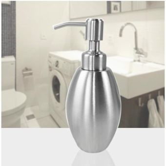 Jual new 304 stainless steel soap pump liquid lotion for Harga kitchen set stainless steel