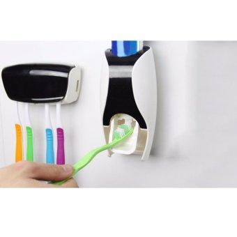 New Toothpaste Dispenser - Dispenser Odol Hitam Harga Grosir