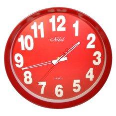 ... Jam Dinding Crown Nobel Kaligrafi Diameter 30 Cm Merah Daftar Source Jam Dinding