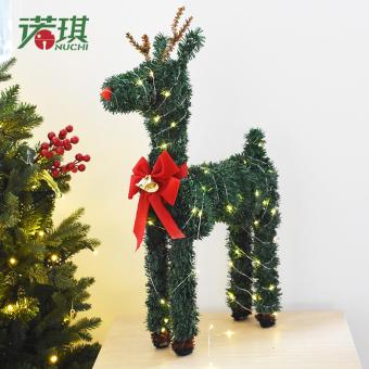 unggul nuoqi natal dekorasi natal rusa sekarang saatnya