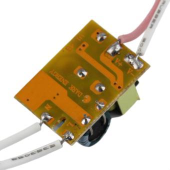 OH tidak tahan air catu daya Chip LED sopir trafo AC 85-265 V 3 watt - Internasional - 4