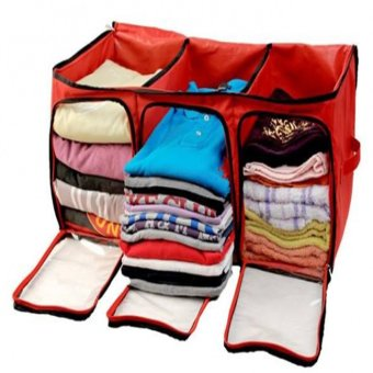 Organized Living Clothes Organizer - Merah - 2