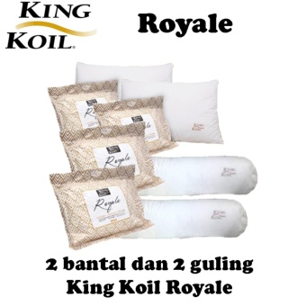 WeekEight Korean Bantal Leher Travel Angin Set Travel Pillow Neck Set Grey. Source · Paket King Koil Royale 2 Bantal 2 Guling
