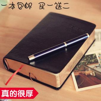 Percaya seri kulit tebal Alkitab bisnis notepad notebook laptop