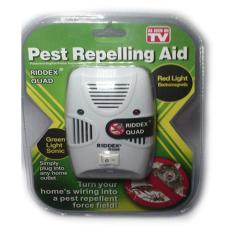 Pest Control Reject Alat Pengusir Tikus, Nyamuk, Kecoa, Lalat Ultra Sonic Riddex Hijau