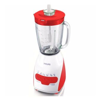 Philips Blender Gelas Plastik 2L - Merah - HR2115/60