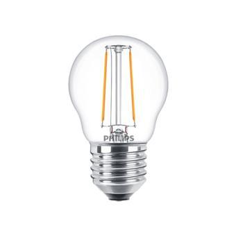 Philips Classic LED Bulb 2-25w P45 (Warm White / Kuning) ...