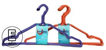 Phoenix Hanger Kawat Isi 20 Pcs Coating Plastik - Ungu - Oranye ...