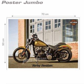 Poster Jumbo: Harley Davidson #MMM10 - 50 x 70 cm