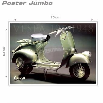 Poster Jumbo: Vespa Classic #MMM02 - 50 X 70 cm