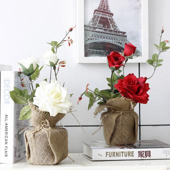 Pot Palsu Ruang Tamu Bunga Hias Meja