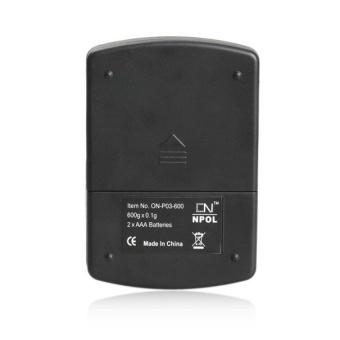 Precise Digital Scale LCD Backlit Pocket - intl - 5