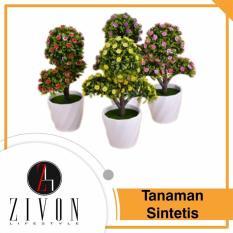 [PROMO] Tanaman Sintetis Palsu Bulat Dekorasi Synthetic Fake Flower Plant YZB2