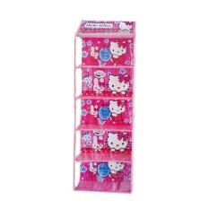 Rak Tas Gantung Sleting 5 Susun Karakter Hello Kitty