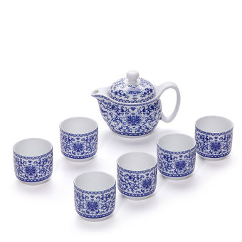 Ronkin Home Rumah Tangga Adat Minum Teh Teko Teh Keramik Cangkir Teh
