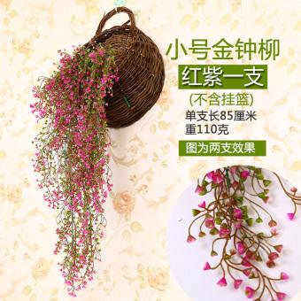 Rumah keranjang simulasi hydrangea bunga buatan