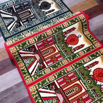 Detail Gambar Produk Sajadah ROLL Medeena 105 x 570 cm 21001 Masjid Merah Terbaru