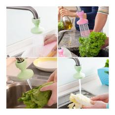 Sambungan Kran Air Plastik / Keran Air Sambung Dapur Kamar Mandi Portable KA-02 - Green