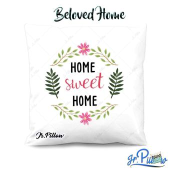 Sarung Bantal Sofa Jr.Pillow Satin Premium 45x45cm Beloved Home + Isi Bantal