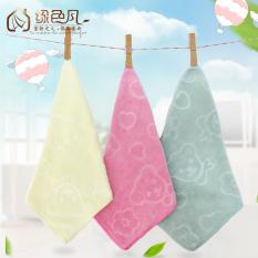 10 x 23x18cm bambu serat hidangan cuci handuk Scouring bantalan kain alat untuk kamar mandi |