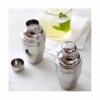 Shaker milkshake alat pengocok minuman cocktail stainless steel 530ml 4 .