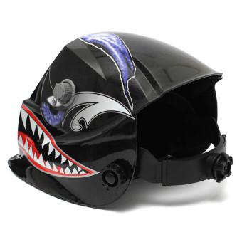 ... Solar Welder Mask Electrowelding Auto-Darkening Welding Helmet Shark Mouth - Intl - 3 ...