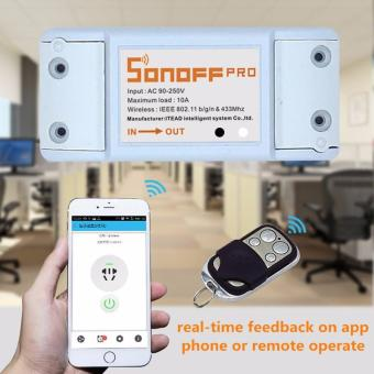 Sonoff ITEAD 433Mhz RF- WiFi Wireless Smart Home Switch + RF Receiver Remote Control - intl