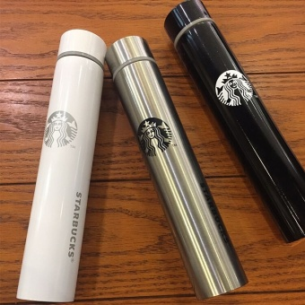 Harga South Korea's Starbucks Long Slender Goddess Thermos Cup, StainlessSteel Long Cup, Coffee Creative Cup - intl