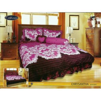 Sprei Rumbai King California motif Chrysantha