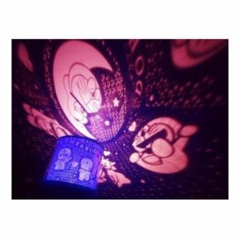 Star Master Lampu Tidur Proyektor - DORAEMON
