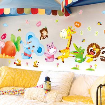 jual stiker kamar bayi - stiker dinding murah