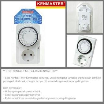 Kaiser Ksr 24 Stop Kontak Timer 24 Jam - Page 4 - Daftar