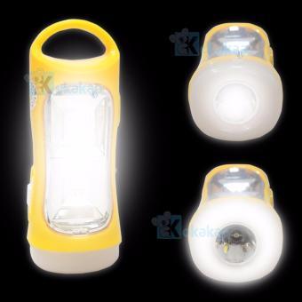 Harga Sunfree Lampu Emergency FQL P82 Light LED 16 SMD + Senter Super LED 1w Rechargeable